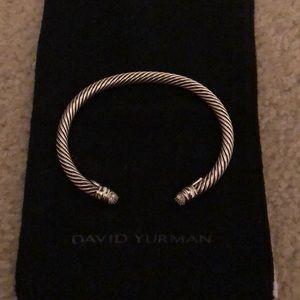 Jewelry - David Yurman Diamond Sterling Silver Bracelet